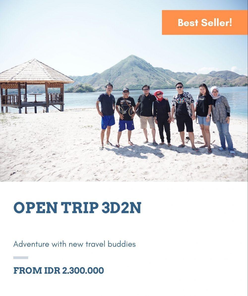 open trip labuan bajo